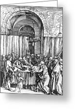 Refusal Of Joachim Offer 1503 Greeting Card