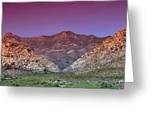 Regal Desert Greeting Card
