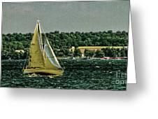 Regatta On Seneca Lake Greeting Card