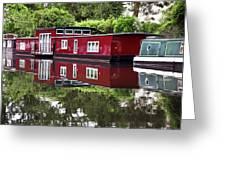 Regent Houseboats Greeting Card