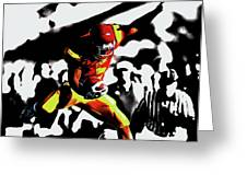 Reggie Bush Up And Over Greeting Card