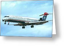 Regional Jet Greeting Card