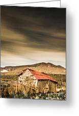 Regional Ranch Ruins Greeting Card