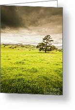 Regional Rural Land Greeting Card