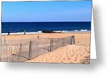 Rehoboth Beach Panorama Greeting Card
