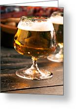 Relax And Take A Sip Of Cold Beer Greeting Card