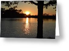 Relax By The Lake Greeting Card