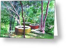 Relax Here Greeting Card