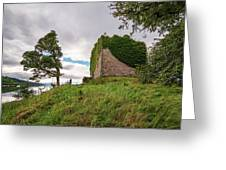 Remains Of Castle Lachlan Greeting Card