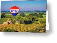 Remax Hot Air Balloon Ride Greeting Card