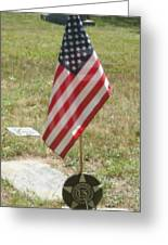 Remember Our Veterans Greeting Card
