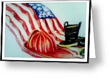 Remembering 9/11 Greeting Card