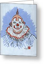 Remembering Clarabelle The Clown Greeting Card