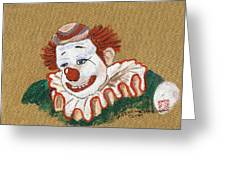 Remembering Felix Adler The Clown Greeting Card