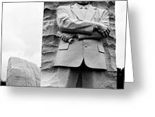 Remembering Mr. King Greeting Card