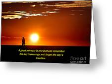 Remembering Greeting Card