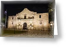 Remembering The Alamo Greeting Card