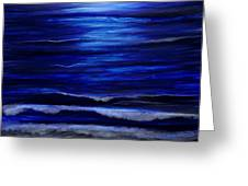 Remembering The Waves Greeting Card