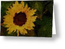 Remembering Van Gogh Greeting Card