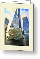 Remembering With A Rose Greeting Card