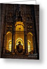 Remsen Building Window, Nyc Greeting Card