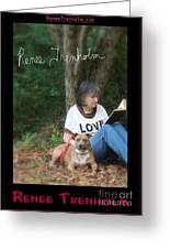 Renee Trenholm . Signed Greeting Card