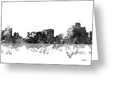 Reno Nevada Skyline Greeting Card