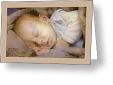 Renoircalia Catus 1 No.2 - Adorable Baby L A Greeting Card