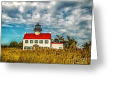 Renovated East Point Lighthouse Greeting Card
