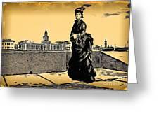 Renuar Peterburg Collage Greeting Card