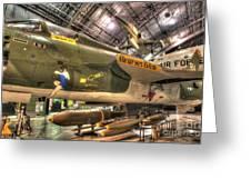 Republic F-105 Thunderchief Greeting Card