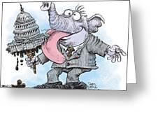 Republicans Lick Congress Greeting Card