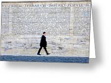 Res Gestae Divi Augusti Greeting Card