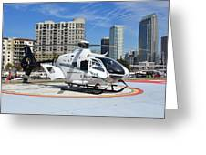Rescue Helocopter Greeting Card