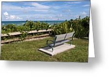 Reserved For A Visitor To East Coast Florida Greeting Card