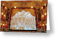 Residenz Theatre 7 Greeting Card
