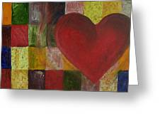 Resilience After Jim Dine Greeting Card