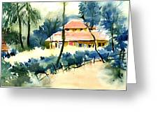 Rest House Greeting Card