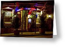 Restaurant Jeanne D'arc Greeting Card