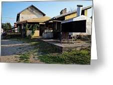 Restaurant On The Outskirts  Greeting Card