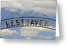 Resthaven Greeting Card