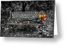 Resting Flowers Greeting Card