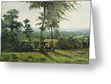 Resting In The Countryside Greeting Card