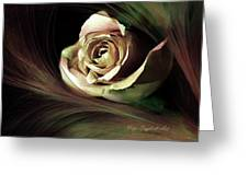 Resting Rose Greeting Card