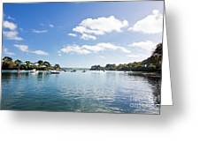 Restronguet Creek In Autumn Greeting Card