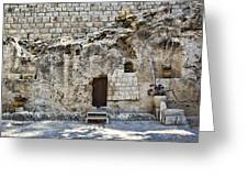 Resurrection - Garden Tomb Greeting Card