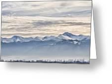 Retezat Mountains Greeting Card