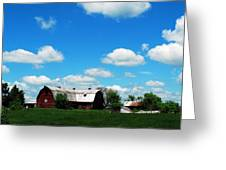Retired Barn Greeting Card