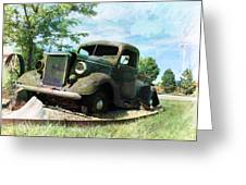 Retired In Amarillo Greeting Card