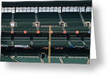 Retired Numbers Of The Orioles Greatest Ever Greeting Card